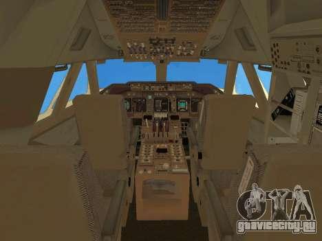 Boeing 747 Air China для GTA San Andreas салон