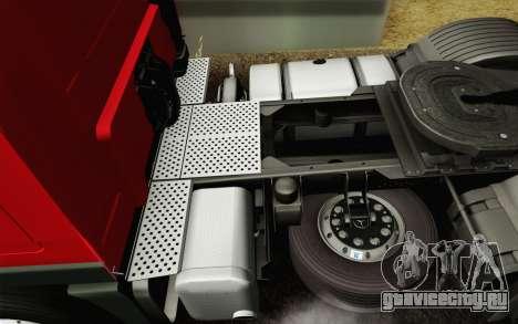 Mercedes-Benz Actros для GTA San Andreas салон