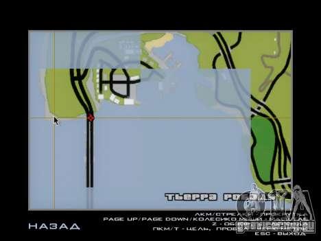 Таможня SF-LV для GTA San Andreas седьмой скриншот