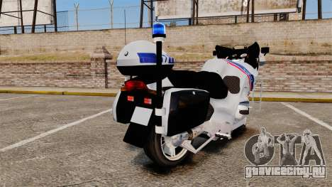 BMW R1150RT Police nationale [ELS] для GTA 4 вид справа