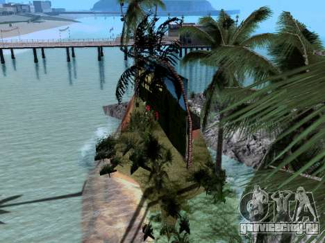 Новый остров v1.0 для GTA San Andreas пятый скриншот