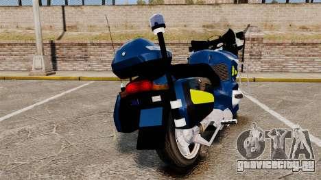 BMW R1150RT Gendarmerie [ELS] для GTA 4 вид сзади слева