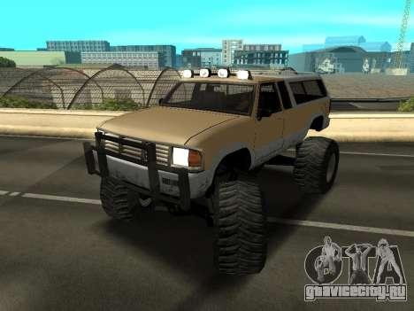 Новый Monster для GTA San Andreas