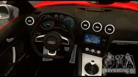 Audi TT RS v1.0 для GTA 4 вид сзади
