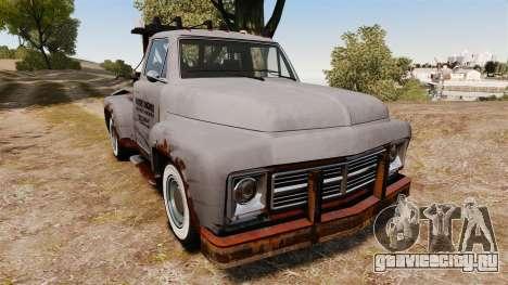 GTA IV TLAD Vapid Tow Truck для GTA 4