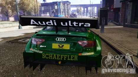 Audi RS5 DTM для GTA 4 вид справа