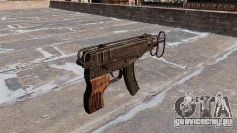 Пистолет-пулемёт Skorpion vz. 61 для GTA 4 второй скриншот