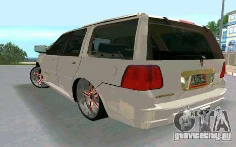 Lincoln Navigator DUB Edition для GTA San Andreas вид слева