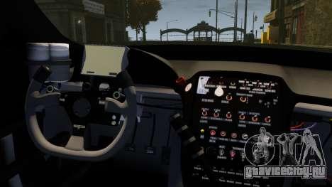 Jaguar XKR GT для GTA 4 вид изнутри