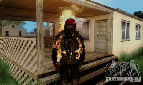Kopassus Skin 1 для GTA San Andreas шестой скриншот