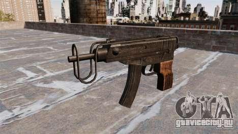 Пистолет-пулемёт Skorpion vz. 61 для GTA 4 третий скриншот