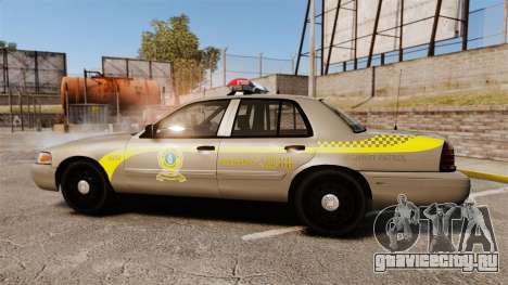 Ford Crown Victoria NLSP [ELS] для GTA 4 вид слева