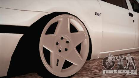 Fiat Palio BKModifiye для GTA San Andreas вид сзади