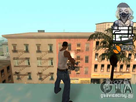 C-hud by Mark Osborne для GTA San Andreas второй скриншот