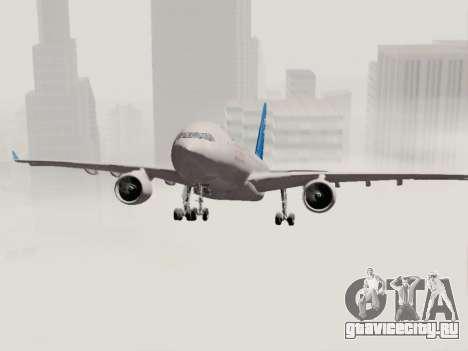 A330-202 China Eastern для GTA San Andreas вид сбоку