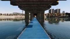 Дорога под мостом для GTA 4