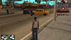 C-HUD Железный человек для GTA San Andreas