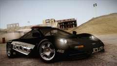 McLaren F1 Police Edition для GTA San Andreas