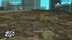 GM от пуль для SAMP 0.3z для GTA San Andreas