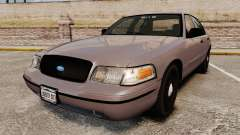 Ford Crown Victoria 2008 LCPD Detective [ELS]