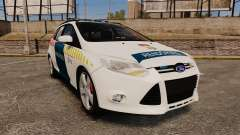 Ford Focus 2013 Hungarian Police [ELS]