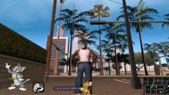 C-HUD Tom and Jerry для GTA San Andreas