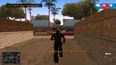 C-HUD Lumia GTA V для GTA San Andreas