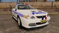 Ford Falcon XR8 Police Western Australia [ELS] для GTA 4