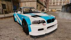 BMW M3 GTR 2012 Most Wanted v1.1 для GTA 4