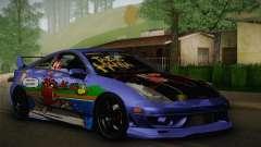 Toyota Celica Taz Mania Street Edition для GTA San Andreas