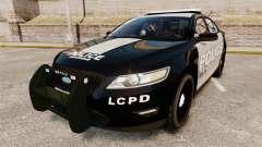 Ford Taurus LCPD Interceptor 2011 [ELS] для GTA 4