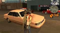 C-HUD Marilyn Monroe для GTA San Andreas