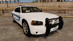 Dodge Charger 2010 Liberty County Sheriff [ELS] для GTA 4
