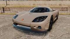 Koenigsegg CCX для GTA 4