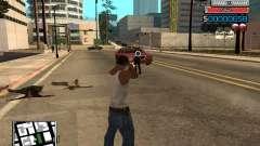 Новый C-HUD для GTA San Andreas