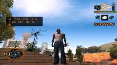 C-HUD TV-Центр для GTA San Andreas