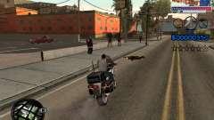 Новый C-HUD Ghetto для GTA San Andreas