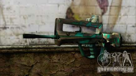 Famas G2 Commando Blaze для GTA San Andreas