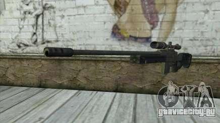 GTA V Sniper rifle для GTA San Andreas