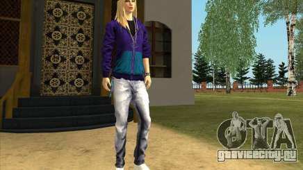 Скин Avril Lavigne для GTA San Andreas