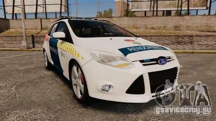 Ford Focus 2013 Hungarian Police [ELS] для GTA 4