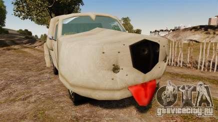 Фургон -Тупой и еще тупее- для GTA 4