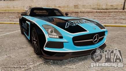 Mercedes-Benz SLS 2014 AMG Black Series Area 27 для GTA 4