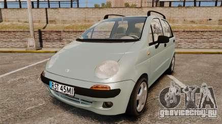 Daewoo Matiz SE 1998 для GTA 4