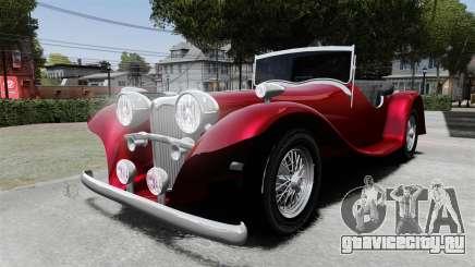 Jaguar SS100 для GTA 4