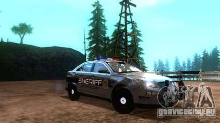Ford Interceptor Los Santos County Sheriff для GTA San Andreas