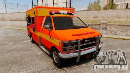 Brute CHH Ambulance для GTA 4