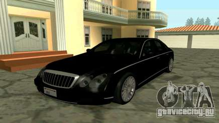 Maybach 57 TT Black Revel для GTA San Andreas