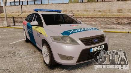 Ford Mondeo Hungarian Police [ELS] для GTA 4