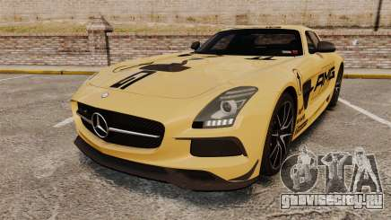 Mercedes-Benz SLS 2014 AMG Driving Academy v2.0 для GTA 4